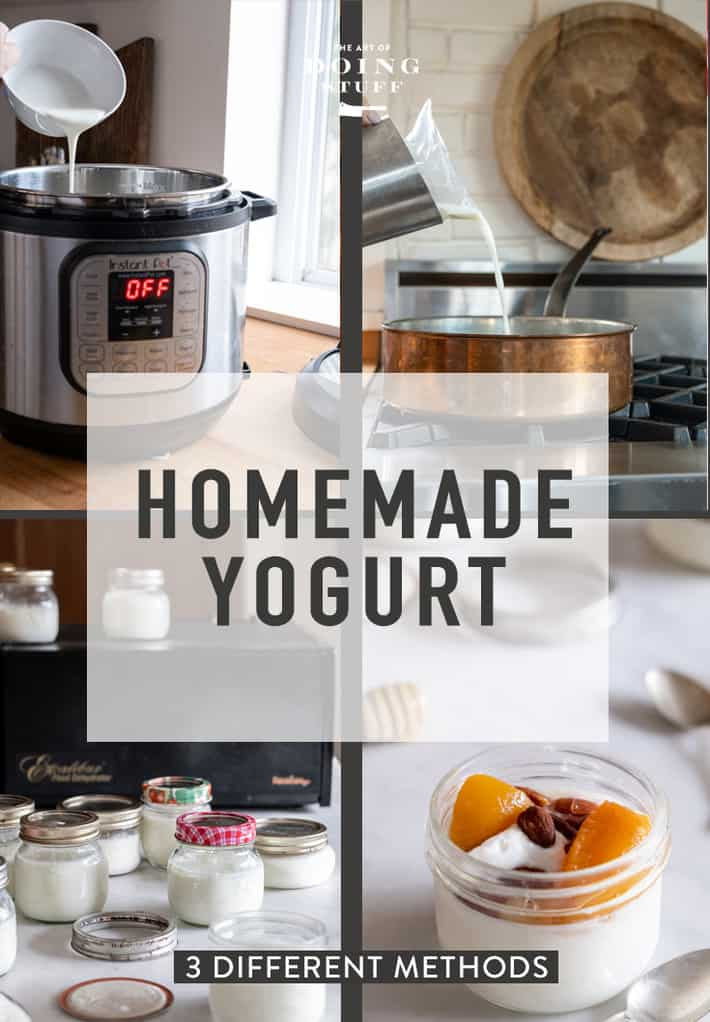How to Make Yogurt at Home.