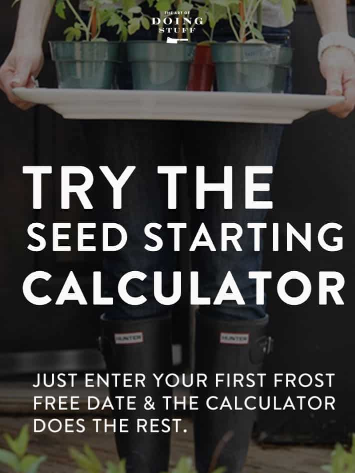 Seed Starting Calculator