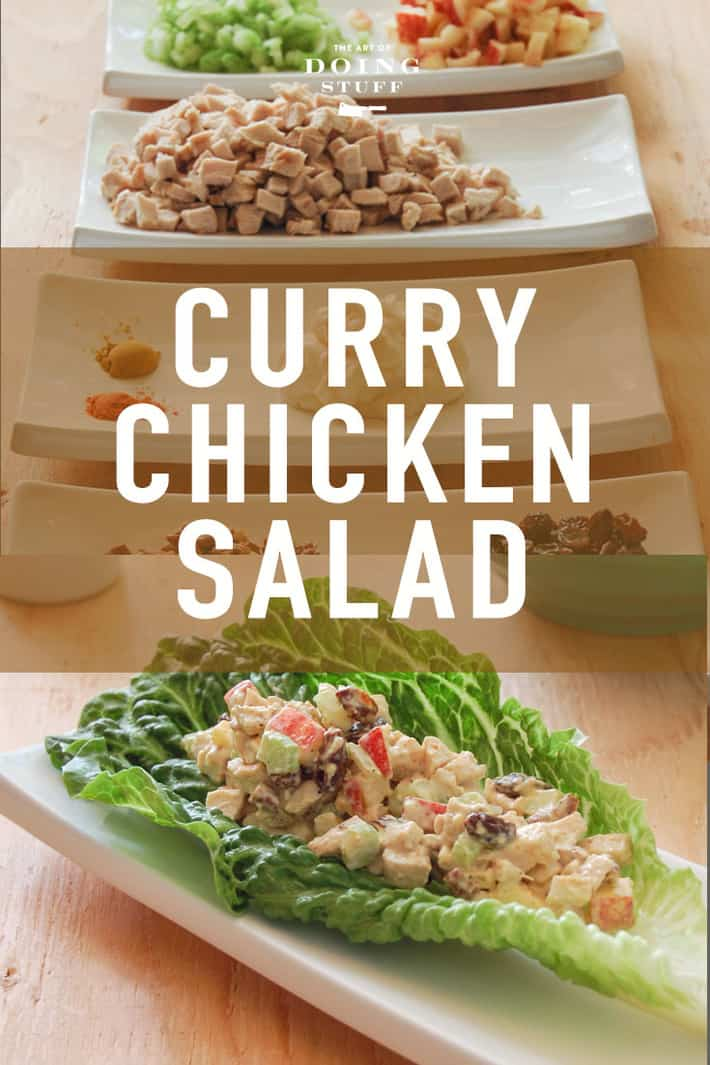 The Best Curry Chicken Salad You'll Ever Eat.