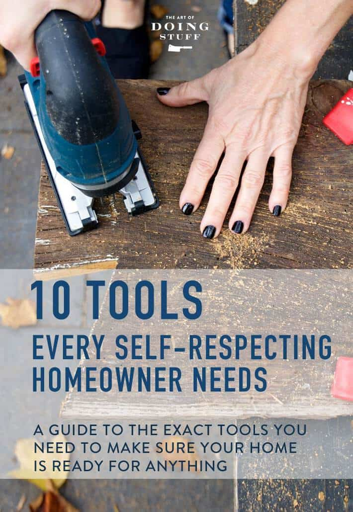 The Tools Every Homeowner Needs. From Basic to Advanced.