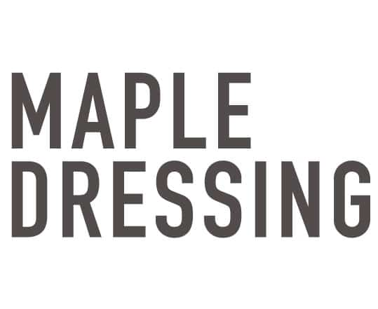 Maple salad dressing