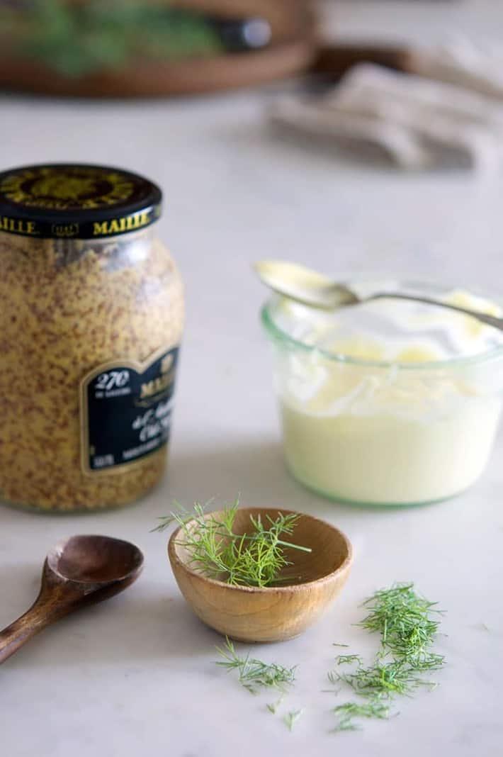 Mustard dill sauce