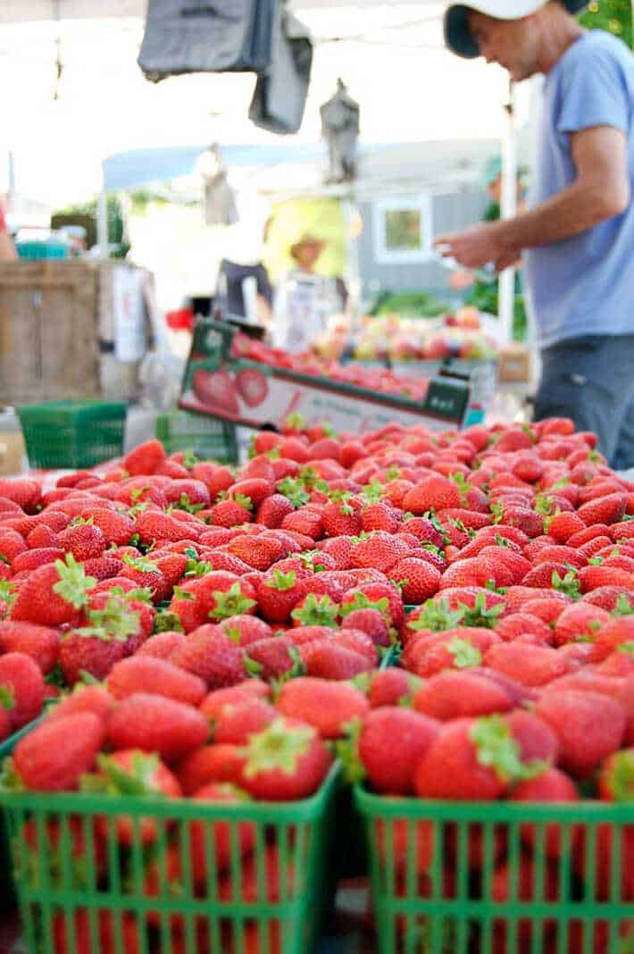 Why you should shop at farmer's markets.