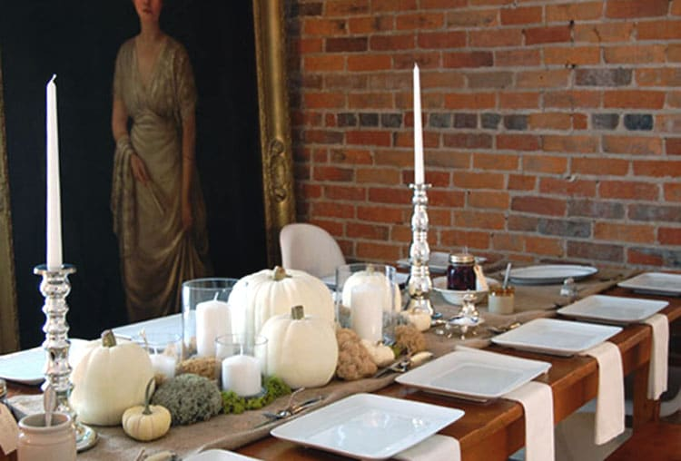 Thanksgiving centrepiece ideas