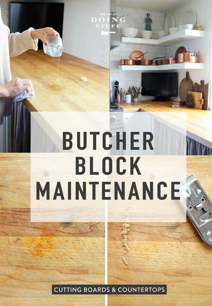 The Complete Guide to Maintaining Butcher Block Counters.