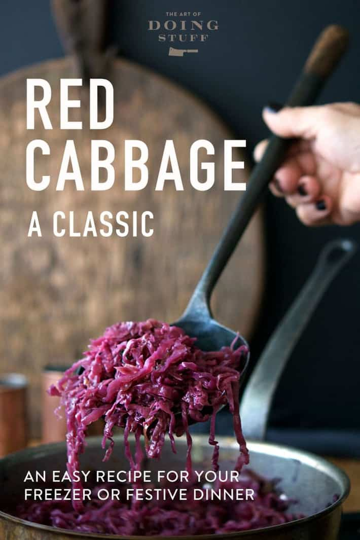Sweet & Sour German Red Cabbage Recipe. Like Oma Used to Make.