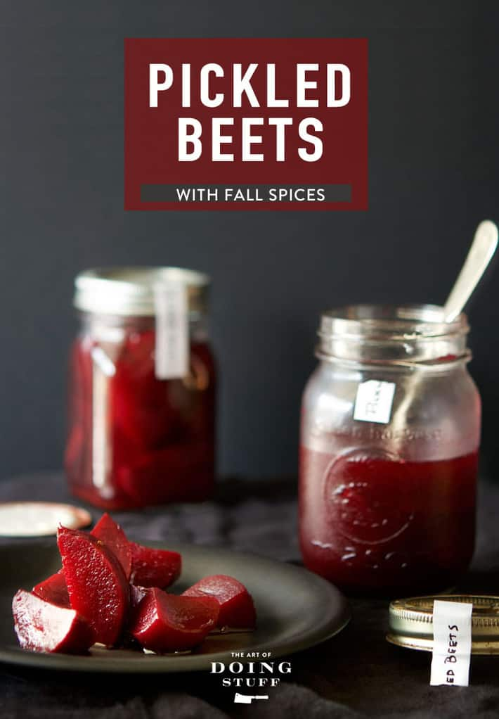 Pickled Beets Recipe (With Fall Spices!)
