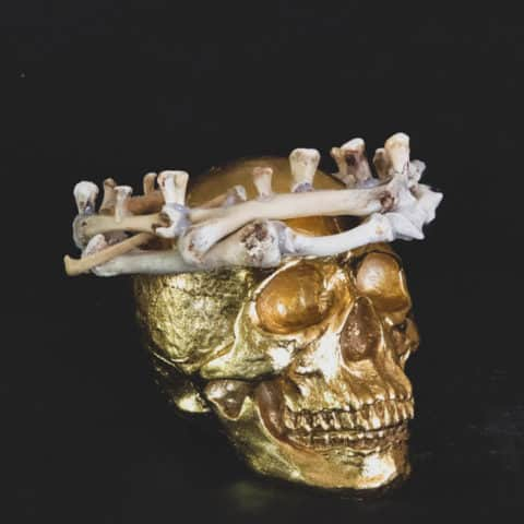 Halloween Bone Crown.