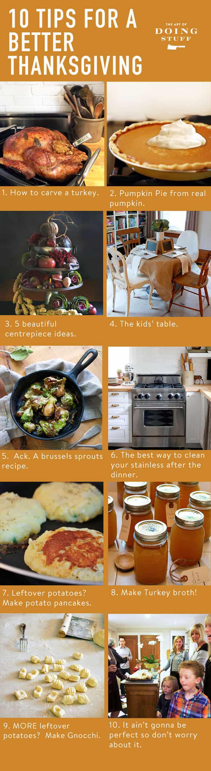 10 best Thanksgiving tips.