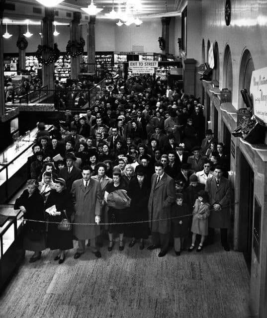 When the term Black Friday was invented.
