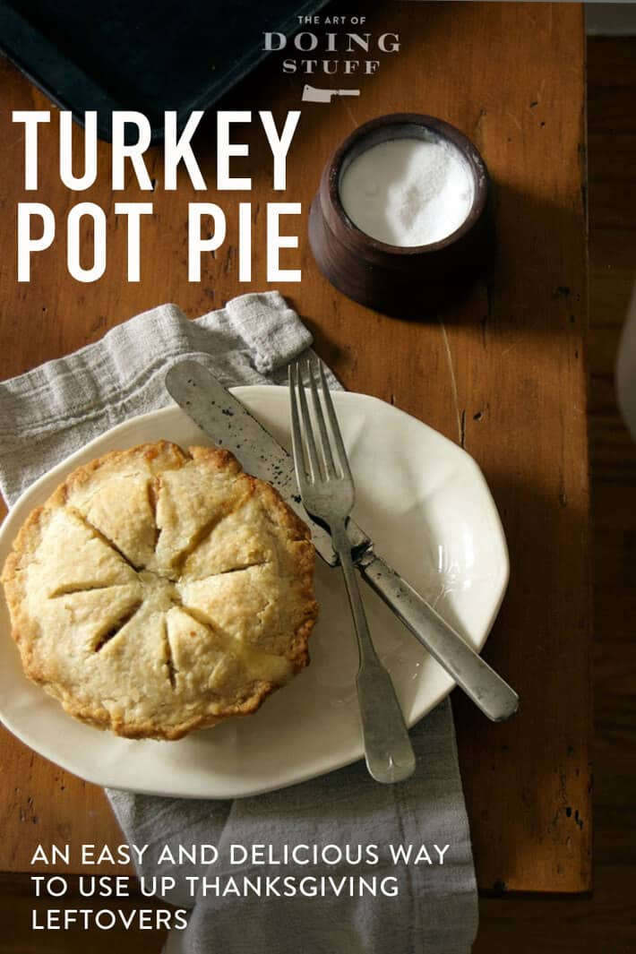 How to Make Delicious Turkey Pot Pie.