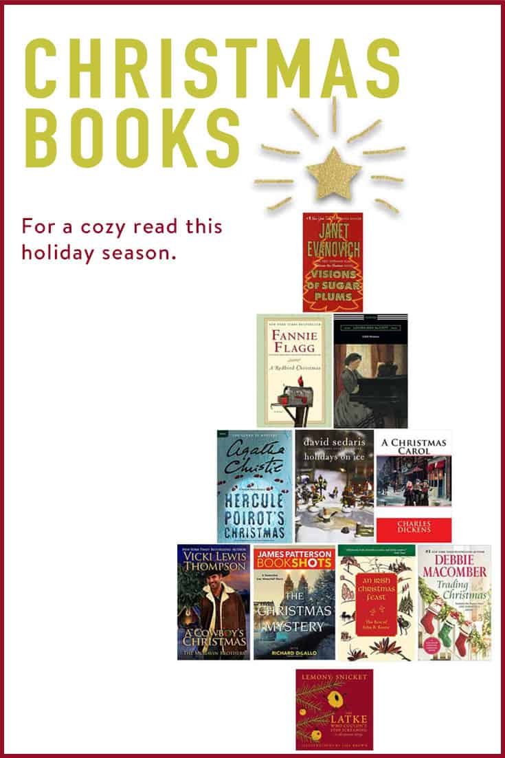 10 Christmas themed books to read this holiday season. PLUS 3 bonus book recommendations. Humour, crime, mystery, romance, classic literature, gay, straight ... it\'s all here!