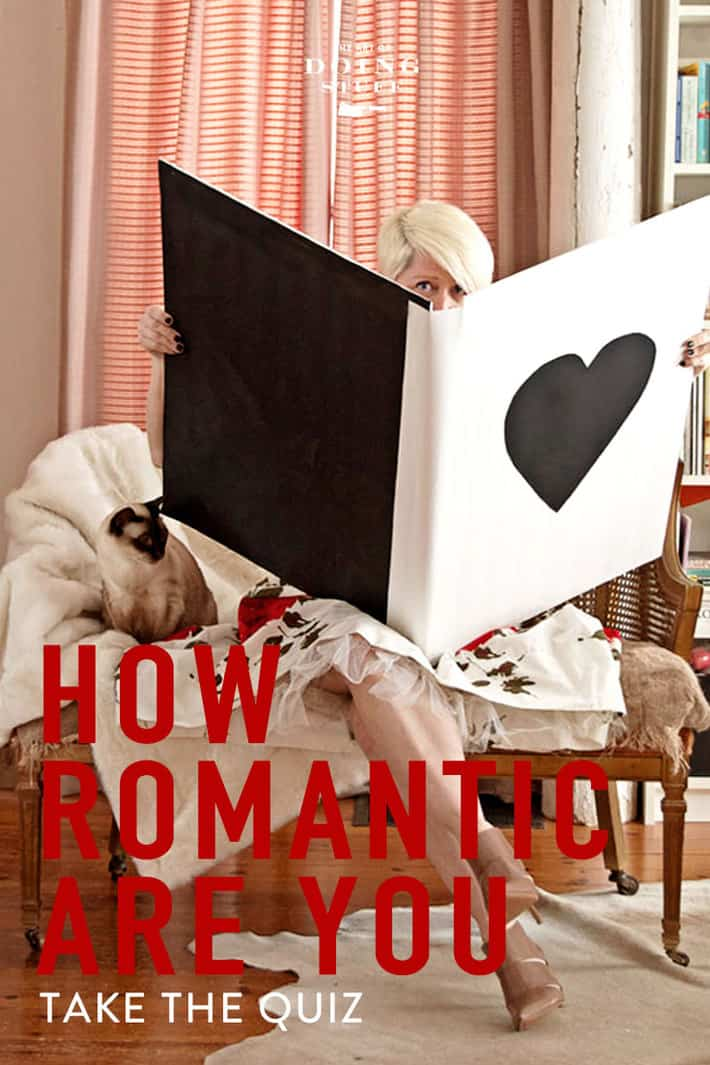 Think you're a true romantic?  Find out how romantic you actually are.