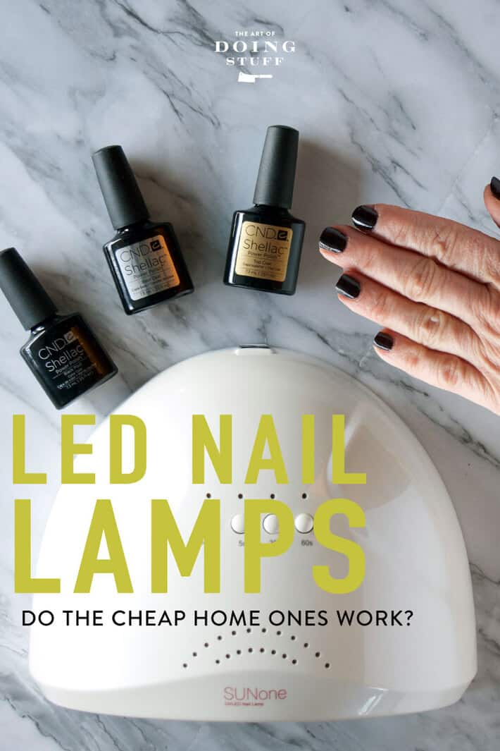 I\'m a doer. I do stuff. Except my nails because they\'re totalled within hours of doing them. NOT ANYMORE. These at home LED nail lamps? They work!
