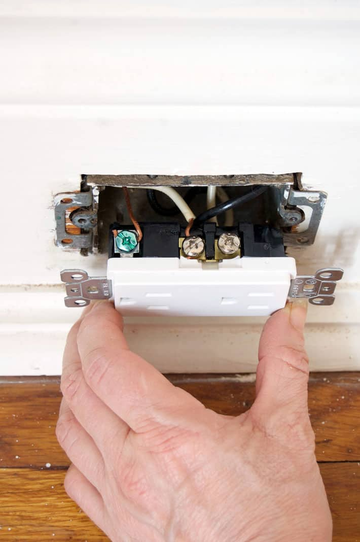 How To Replace An Electrical Outlet  Seriously  You Can Do