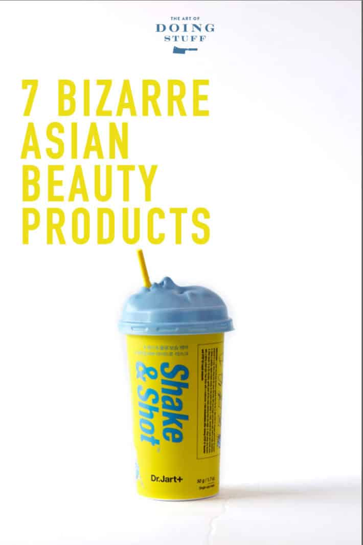 7 Bizarre Beauty Products from Asia