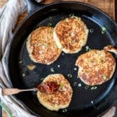 Mashed Potato Pancakes. From Leftovers!