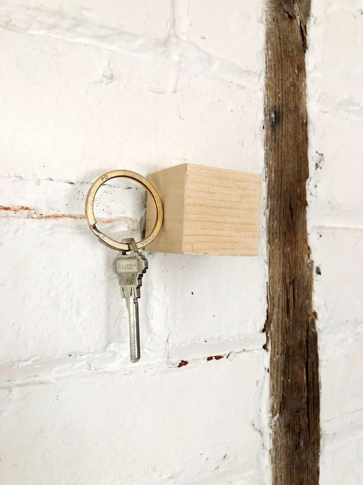 The Magical Key Cube A Really Cool Magnetic Key Hanger