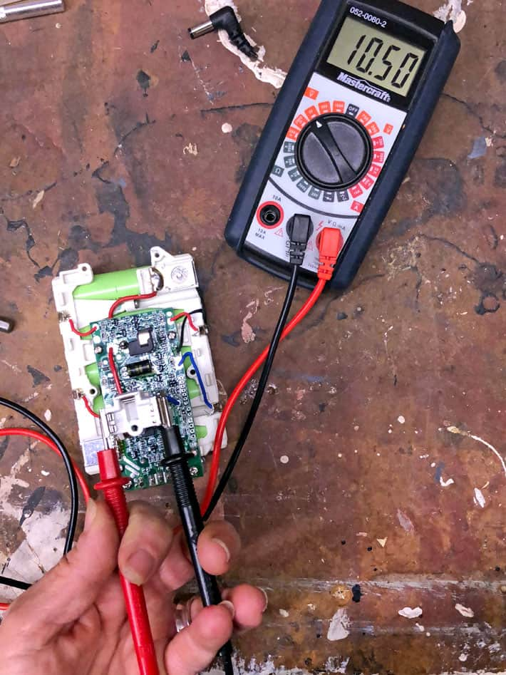 Have a Cordless Tool Battery Won't Recharge? You Can Fix