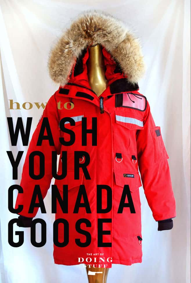Washing your Canada Goose (or down) Coat