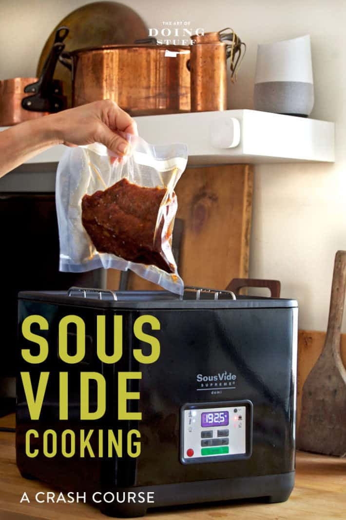 Thinking about trying Sous Vide cooking? Here's a crash course on what you can make and which machine is right for you!  And the one thing I make in it that changed my LIFE.