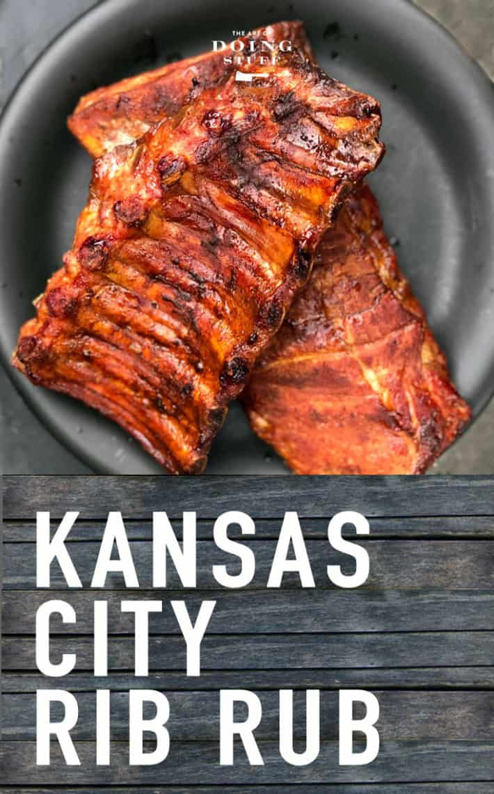 Kansas City Rib Rub.  The ONLY rub for your ribs!  (let the arguments begin, lol)