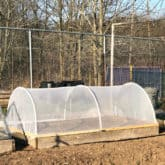 Make a Hinged Hoop House.