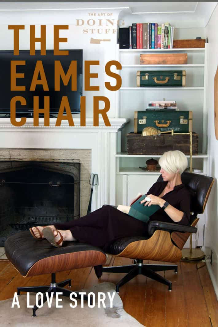 Since I saw Frasier lounging in it looking smart and superior I\'ve wanted the classic Eames lounge chair. Then I didn\'t want it because it was so popular. Then I wanted it again. It was the classic Elizabeth Taylor Richard Burton relationship. Here\'s how we finally found each other.