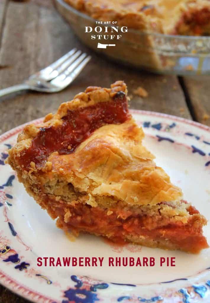 It\'s The 2 Week Window For Strawberry Rhubarb Pie.