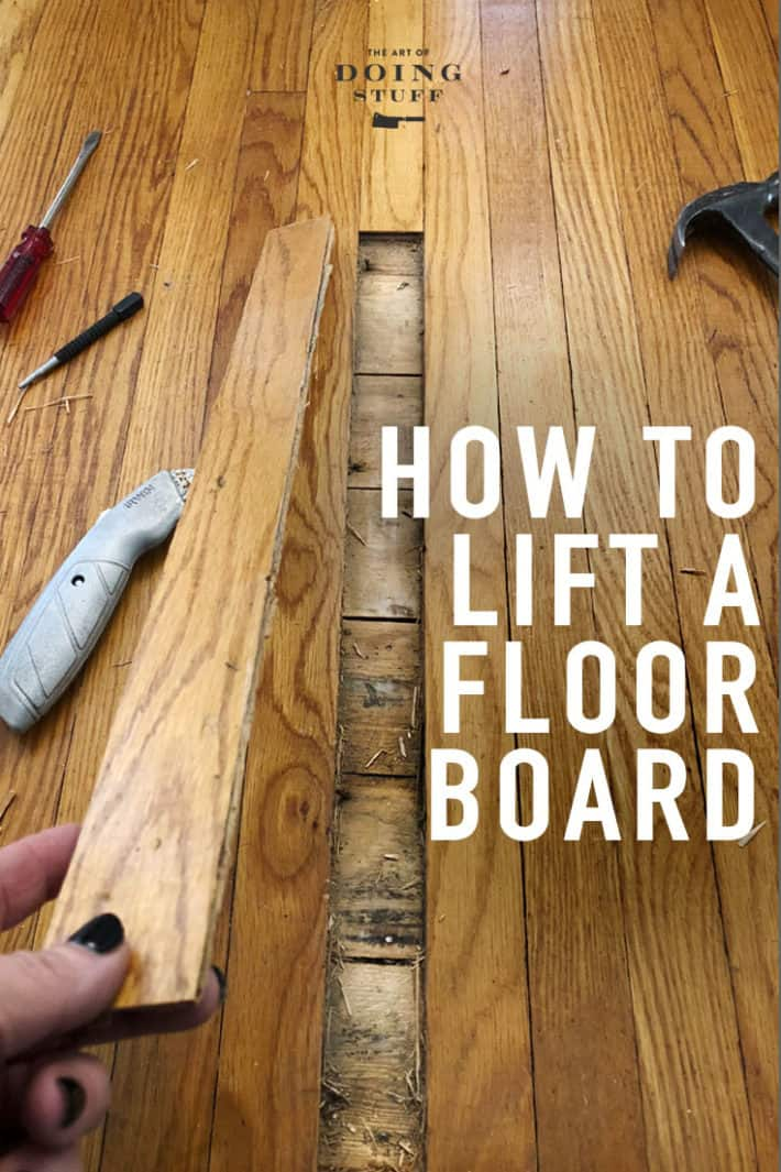How To Remove A Single Piece Of Hardwood Flooring The Art Of