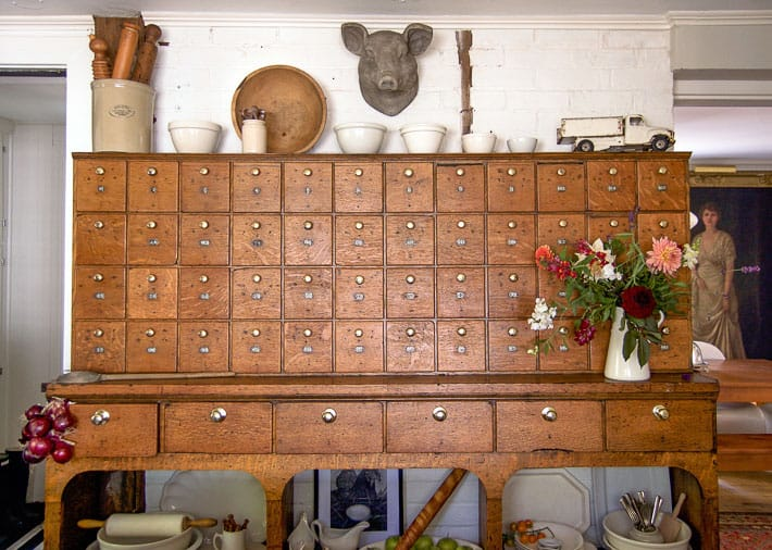 Save - The Antique Hardware Cabinet Finally Comes Home The Art Of Doing