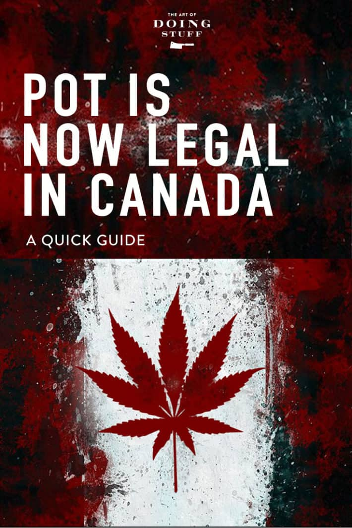 October 17th, 2018 Canada became the first industrialized country to legalize pot across the nation.  It's perfectly legal. Just like smoking or drinking or eating poutine.  Here's a quick guide.