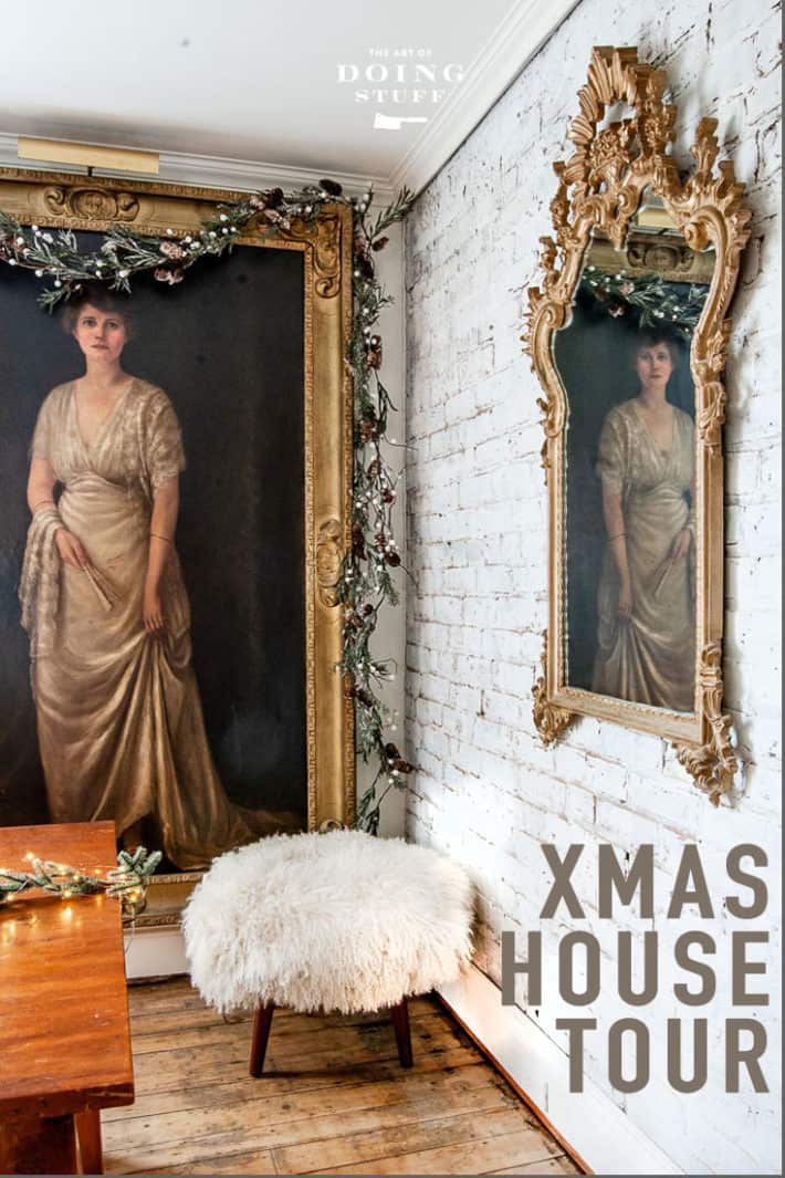 Christmas House Tour 2018 for The Art of Doing Stuff. I vowed to keep it simple.  I didn\'t.  But I tried!