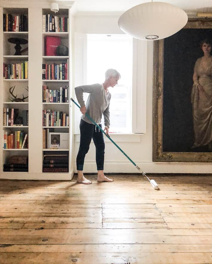 A Modern Way To Refinish Old Floors