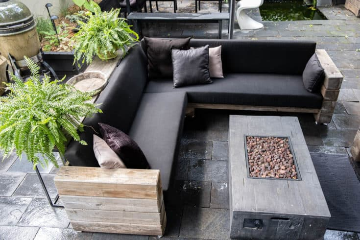 How to Build My Restoration Hardware Sectional. | The Art of ...