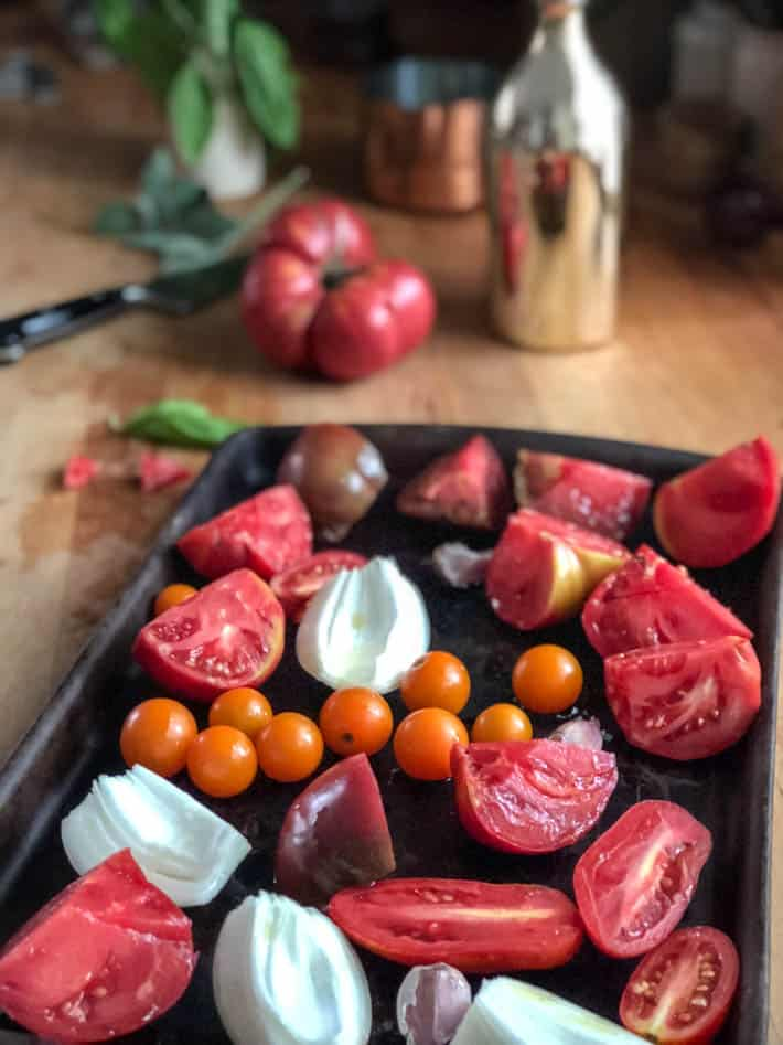 Heirloom Tomato Soup A Quick Amp Easy Summer Dinner The