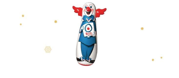 Bozo the Clown Bop Bag.