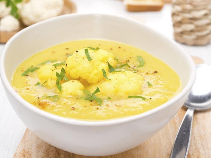 Curried Cauliflower Soup   Dr. Weil's Healthy Kitchen