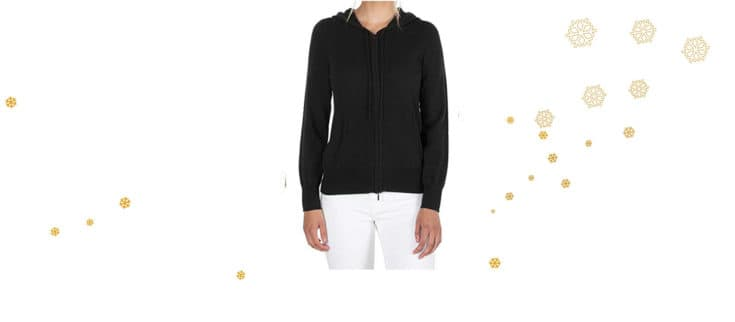 100% Pure Cashmere Hoodie