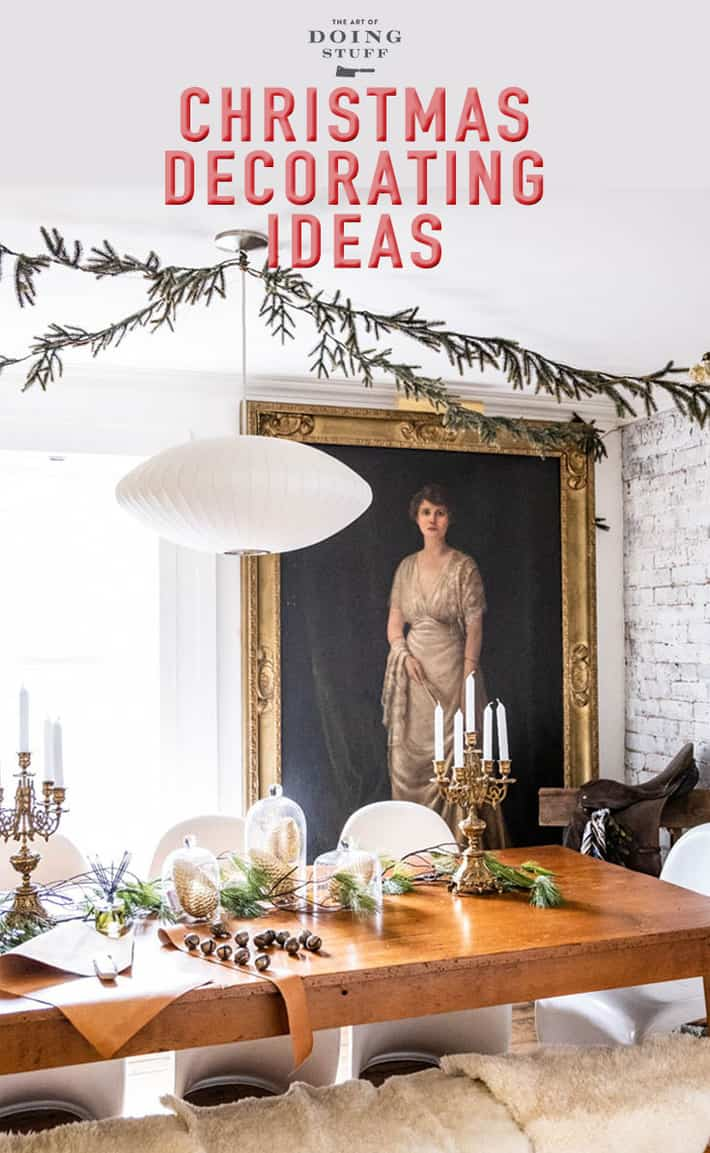 Every year I post a Christmas House Tour of my 1840 historic cottage. Take a virtual walk through for Christmas decorating ideas and inspiration.