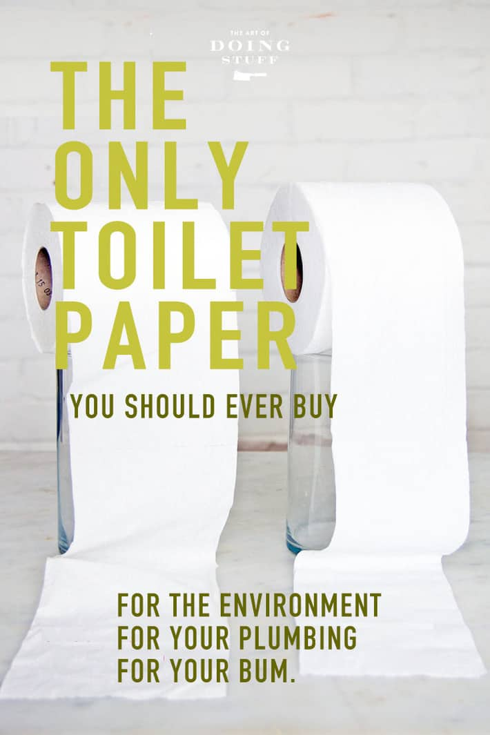 The Only Toilet Paper You Should Ever Buy!