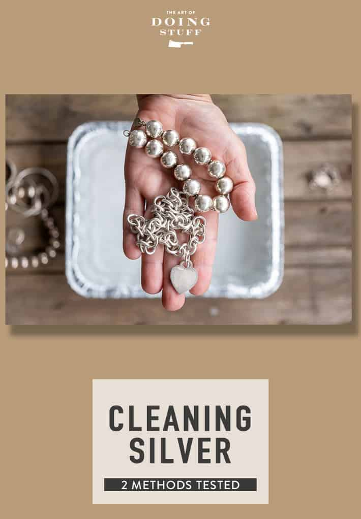 Cleaning Silver Jewelry at Home. 2 Methods Tested.
