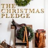 The Christmas Pledge 2020.