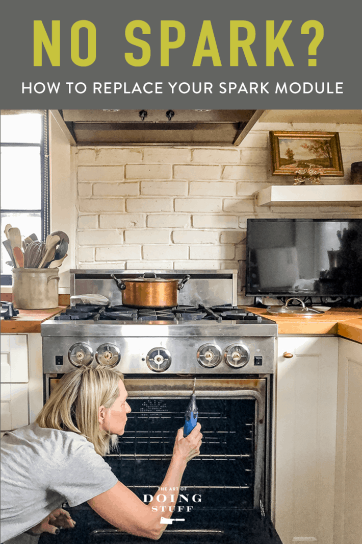 Gas Stove Not Sparking? How to Replace the Spark Module.
