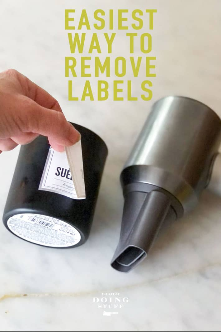 How to Remove Stickers From Glass.