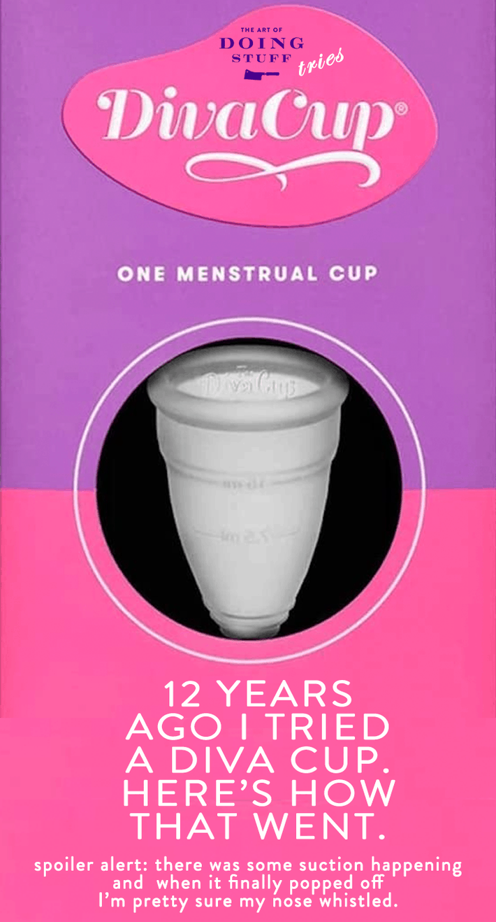 The Diva Cup Review. A Dixie Cup for Your Menstrual Flow.