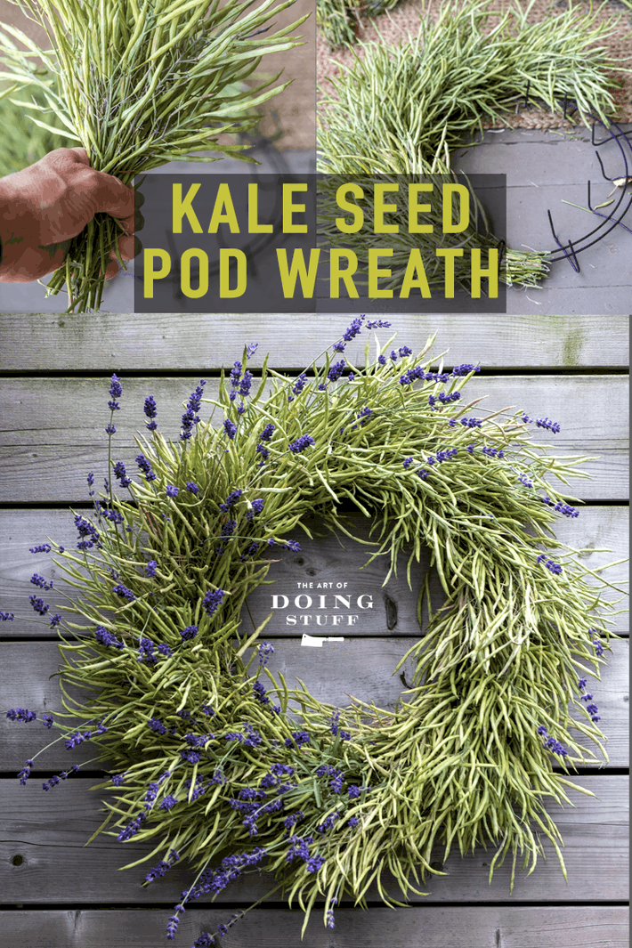 A DIY Wreath. You Won\'t Believe What It\'s Made Of.