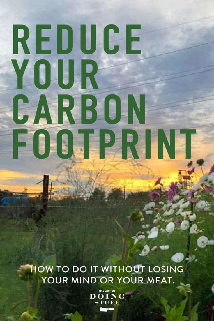 How to Reduce Your Carbon Footprint.