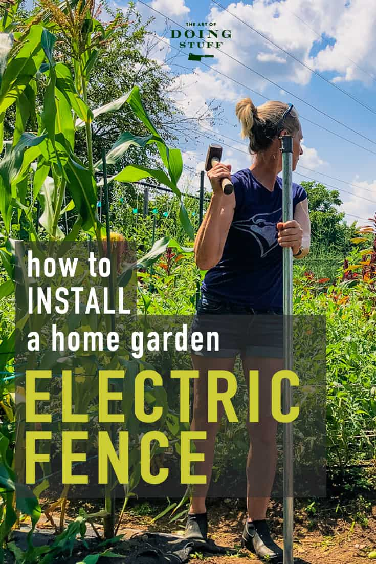 Installing an Electric Fence in Your Home Garden.