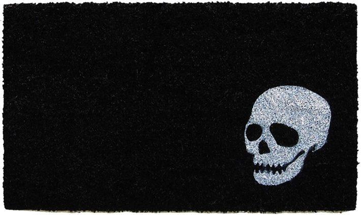 skull doormat from amazon